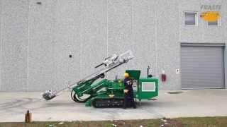 getlinkyoutube.com-Fraste MITO 40 Micropiling Foundation Drilling rig