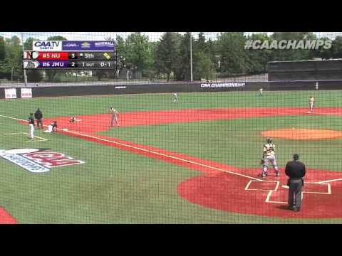 2013 Baseball #CAAChamps Game 6 -- #5 Northeastern 11, #6 James Madison 7