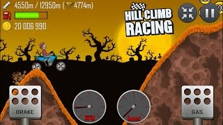 getlinkyoutube.com-Hill Climb Racing: Motocross Bike 4795m on Haunted