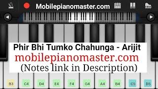 Main Phir Bhi Tumko Chahunga Piano Tutorial|Piano Keyboard|Piano Lessons|Piano Music|learn piano
