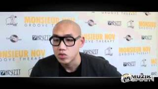 Interview de Monsieur Nov (Groove Therapy)