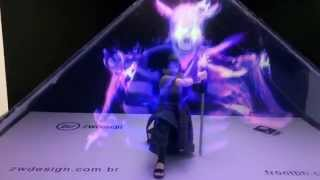 getlinkyoutube.com-ZW Design - Holografia - Sasuke