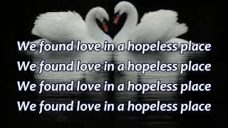 We Found Love - Lyrics