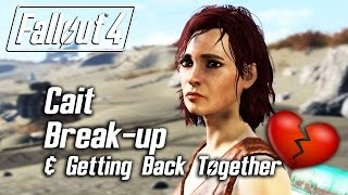 getlinkyoutube.com-Fallout 4 - Cait Romance - Breaking Up & Getting Back Together