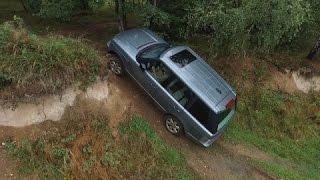 getlinkyoutube.com-Range Rover Sport TDV6 2.7 & Range Rover Vogue V8 4.4i - off-road Highland Jihlava
