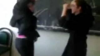 Arab Irani girls danceing in School