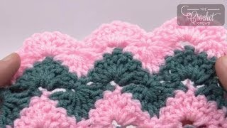 getlinkyoutube.com-How to Crochet Catherine Wave Afghan
