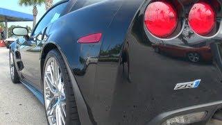 getlinkyoutube.com-Corvette ZR1 vs Camaro ZL1