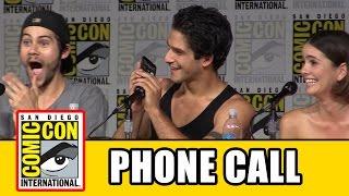 getlinkyoutube.com-Teen Wolf Cast Call Tyler Hoechlin At Teen Wolf Comic Con Panel