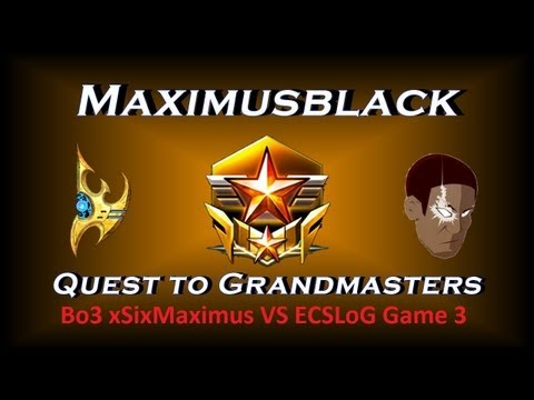 B03 ShowMatch xSixMaximus VS ECSLoG Game 3