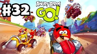 Angry Birds Go! Gameplay Walkthrough Part 32 - Chuck Recruited! Stunt (iOS, Android)