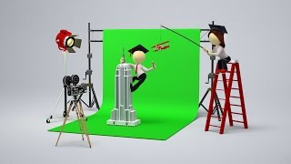 getlinkyoutube.com-Hollywood's History of Faking It | The Evolution of Greenscreen Compositing