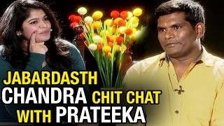 Jabardasth Chammak Chandra Chit Chat With Prateeka || V6 Prateeka Show || Pakka Hyderabadi