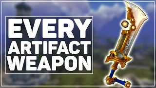 getlinkyoutube.com-All 170 WoW Legion Artifact Weapon (Skins & Color Variants!)