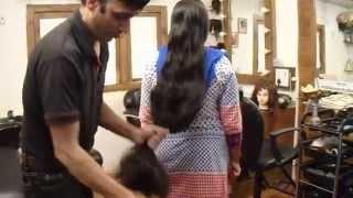 getlinkyoutube.com-Super long haircut