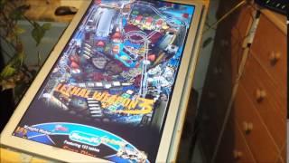 getlinkyoutube.com-Virtueller Flipper selbst gebaut / Virtual Pinball Machine selfmade