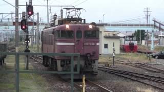 寝台特急【トワイライトエクスプレス】 五稜郭駅入線~発車