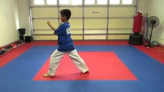 getlinkyoutube.com-Taekwondo Poomsae 1 - 8 and Black Belt 1st - 9th dan
