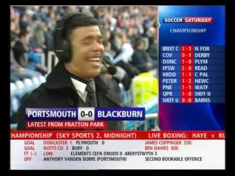 Portsmouth vs. Blackburn Soccer Reporting