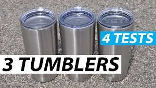 getlinkyoutube.com-Yeti vs Ozark vs RTIC - Tumbler Comparison