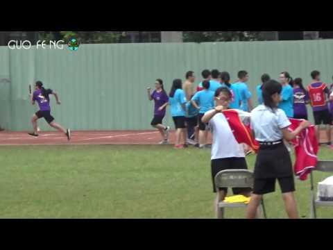 花蓮縣立國風國中105年班際體育競賽大隊接力賽九年級第3組