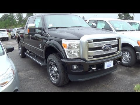 2014 Ford F-250 Super Duty Platinum 4x4 Walkaround