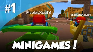 getlinkyoutube.com-Minecraft Minigames # 1 - TURBO KART!