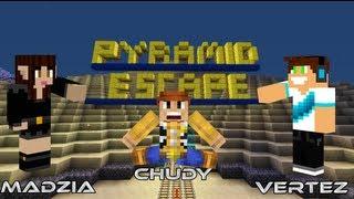 getlinkyoutube.com-Minecraft Escape - Vertez, Madzia, Chudy - Pyramid Escape