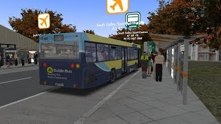 getlinkyoutube.com-Omsi 2: Great Grundorf2:Route A3 To South Valley Hospital: MB 0405N2