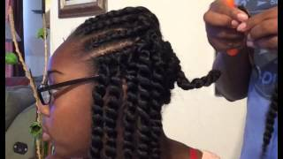 "getlinkyoutube.com-Back To School Hair 12"" Havana mambo twisted"