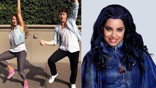 getlinkyoutube.com-How to Dance to 'Set It Off' from Descendants | Oh My Disney