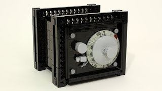 getlinkyoutube.com-Working LEGO Combination Safe
