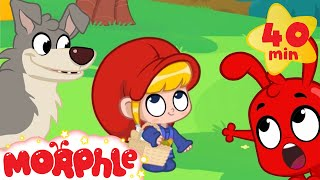 getlinkyoutube.com-Little Red Riding Hood and Morphle - Fairy Tale Animation For Kids