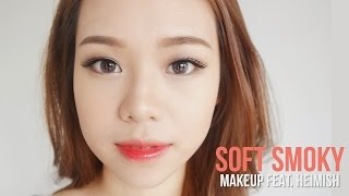 getlinkyoutube.com-Soft Smoky Korean Makeup + Heimish Cosmetics Review