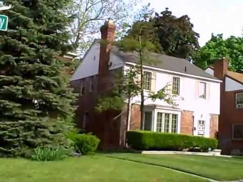 2. Detroit Michigan beautiful homes - V