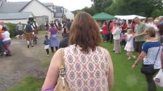 getlinkyoutube.com-The Comrie Pipe Band at the beginning of the Comrie Fortnight..