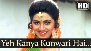 getlinkyoutube.com-Yeh Kanya Kunwari - Kadar Khan - Shilpa Shetty - Aag - Hindi Item Songs - Alka - Sudesh - Hariharan