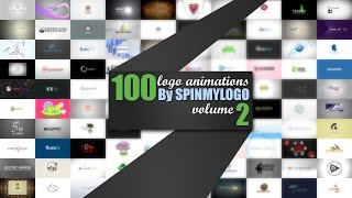 getlinkyoutube.com-100 Logo Animations By Spin My Logo Volume 2