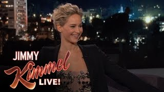Jennifer Lawrence & Jimmy Kimmel are Hypochondriacs