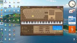 getlinkyoutube.com-كيفية عزف أغنية إنتي باغية واحد على بيانو الكمبيوتر