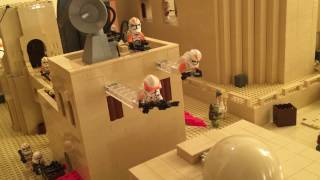 getlinkyoutube.com-Lego Star Wars Full MOC Explanation Mos Eisley Tatooine