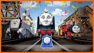 getlinkyoutube.com-Roll Along Thomas - Thomas & Friends: Hero of the Rails - 'Go Go Thomas!' Music Video Remix