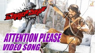 getlinkyoutube.com-Masterpiece - Attention Please Kannada Movie Video song , Yash, V Harikrishna, Manju Mandavya