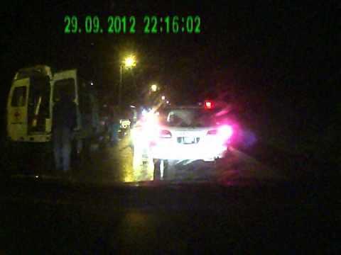 PICT1285 ДТП 29 сентября 2012 года Mazda Bongo VS Пешеход