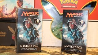 Opening Two Magic the Gathering Mystery Boxes from Walmart