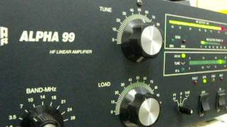 getlinkyoutube.com-ALPHA-99   RF POWER  AMPLIFIER