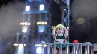 getlinkyoutube.com-Jessie Graff Takes on Vegas Finals – LEGO NINJAGO - American Ninja Warrior