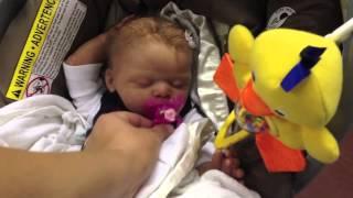 getlinkyoutube.com-A reaction to my fake baby!