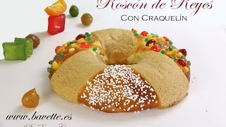 getlinkyoutube.com-Roscon de Reyes con craquelin crujiente