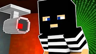 Minecraft | BEST MINECRAFT MAP EVER MADE!? | The Heist #1 Hacking Roleplay Adventure w/ TrueMU